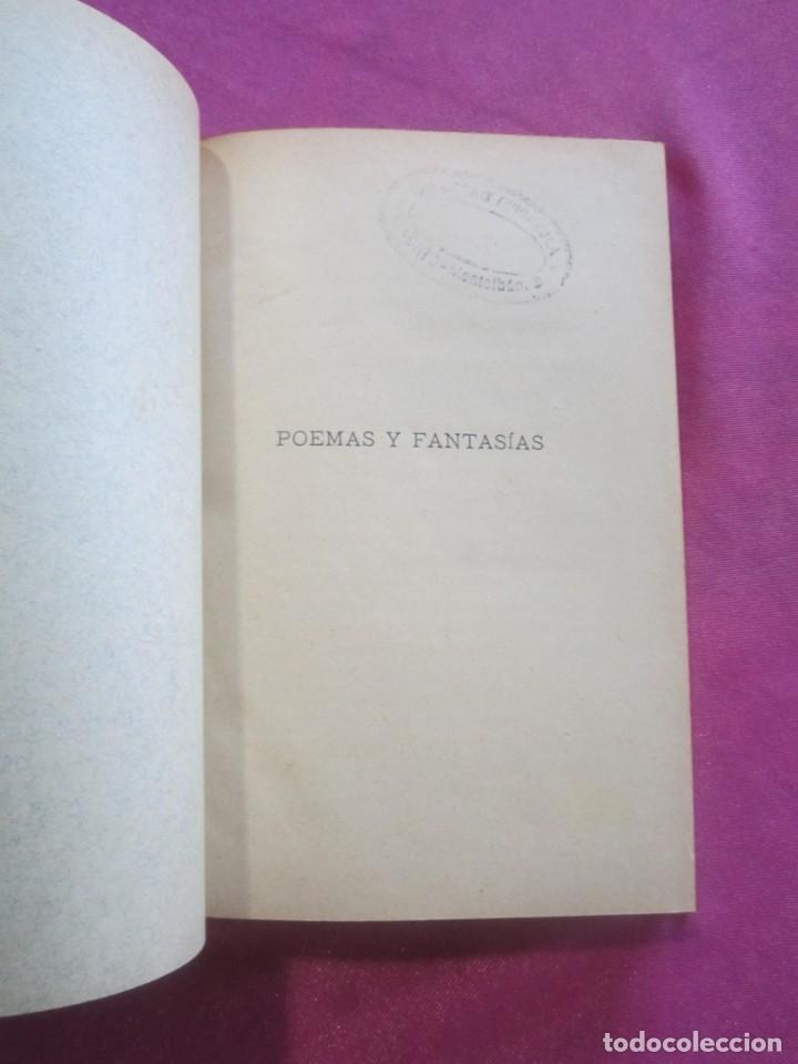 Libros antiguos: POEMAS Y FANTASIAS ENRIQUE HEINE BIBLIOTECA CLASICA 1900 . - Foto 7 - 46203027