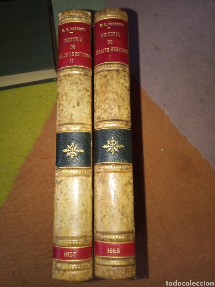 HISTORIA DE FELIPE II, REY DE ESPAÑA (Libros antiguos (hasta 1936), raros y curiosos - Historia Antigua)
