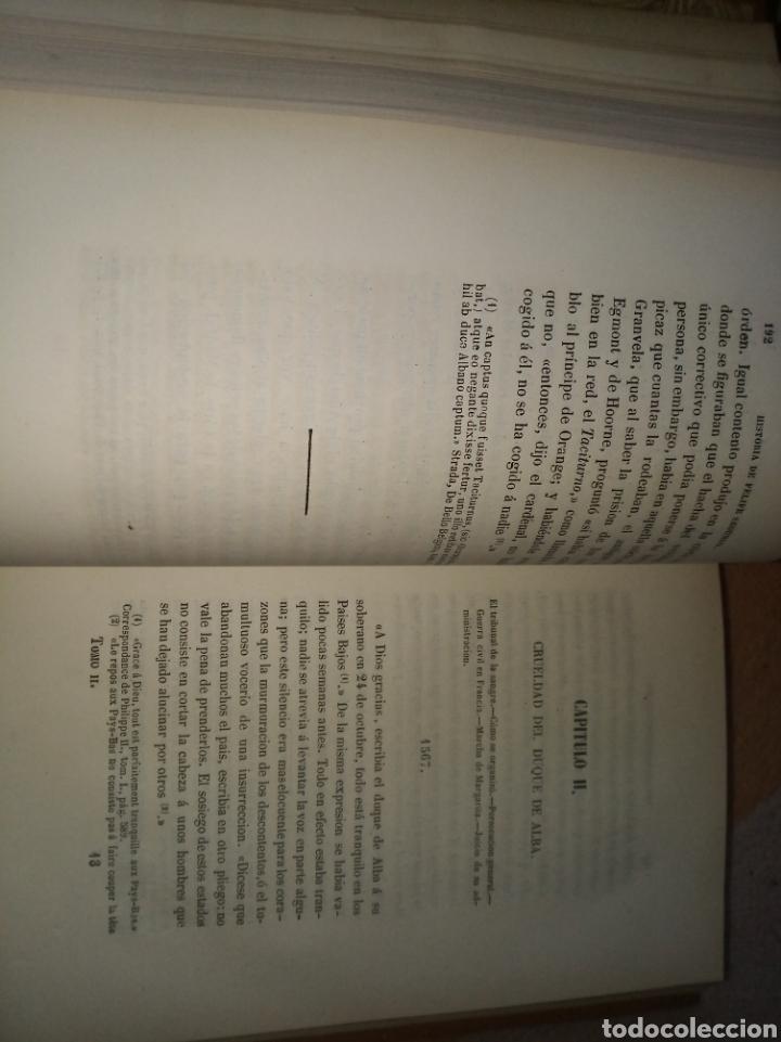 Libros antiguos: Historia de Felipe II, Rey de España - Foto 5 - 157430478