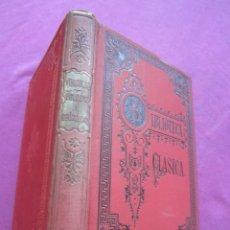 Libros antiguos: EGLOGAS Y GEORGICAS PUBLIO VIRGILIO MARON AÑO 1909. Lote 157469102