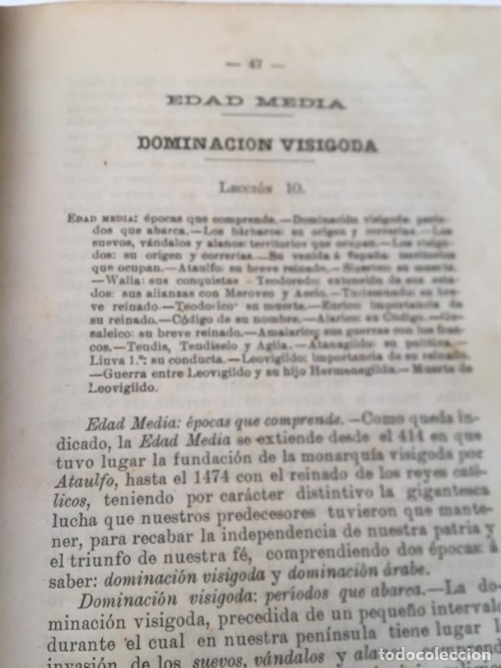 Libros antiguos: Compendio Historia de España 1907 Don Marcos M.De la Calle Segunda Edición Zamora - Foto 7 - 158121718