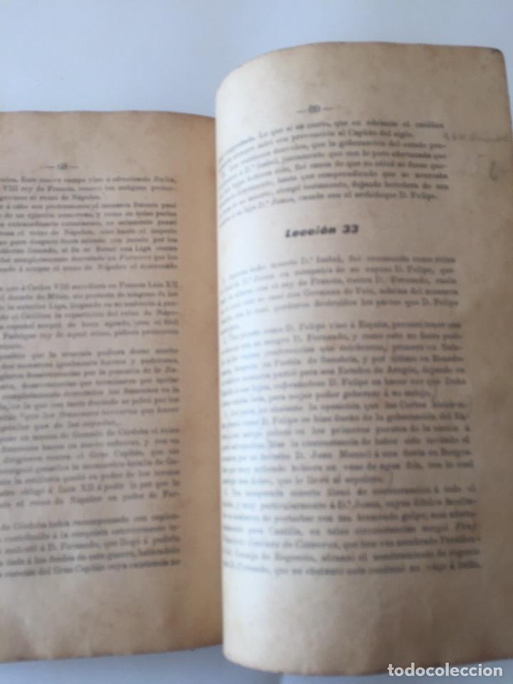 Libros antiguos: Compendio Historia de España 1907 Don Marcos M.De la Calle Segunda Edición Zamora - Foto 9 - 158121718