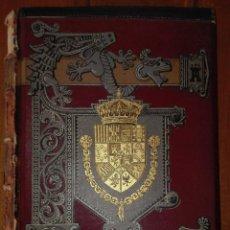 HISTORIA GENERAL DE ESPAÑA MODESTO LAFUENTE TOMO CUARTO EDAD MEDIA. MONTANER Y SIMÓN 1889