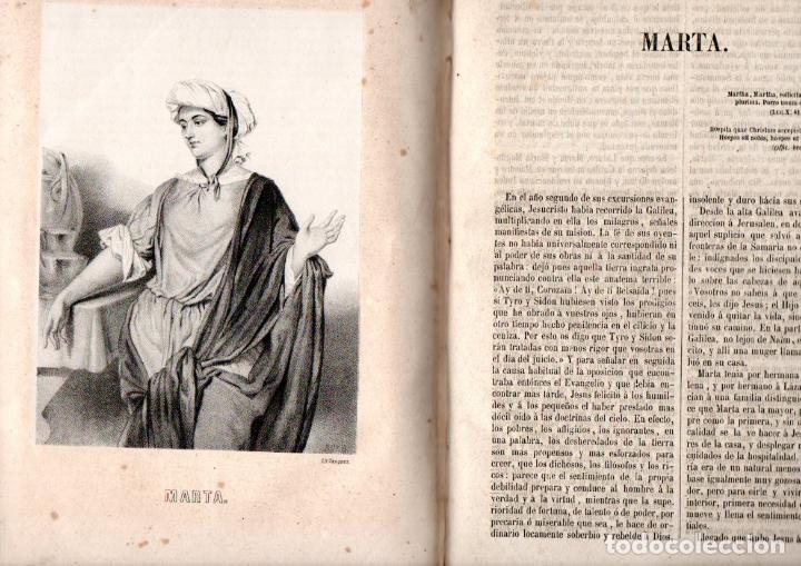 Libros antiguos: j. ROCA Y CORNET : MUGERES DE LA BIBLIA (1962) CON 38 MAGNÍFICOS GRABADOS - Foto 4 - 158711550