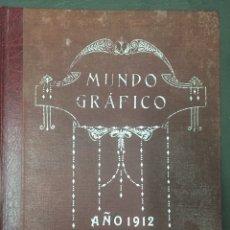 Libros antiguos: MUNDO GRÁFICO 2ºSEMESTRE AÑO 1912. Lote 158840069