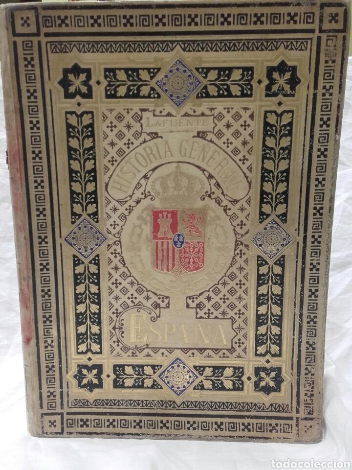 Libros antiguos: HISTORIA GENERAL DE ESPAÑA DE MODESTO LAFUENTE EDICIÓN DE LUJO 1833, Montaner y Simón editores. - Foto 2 - 159362489