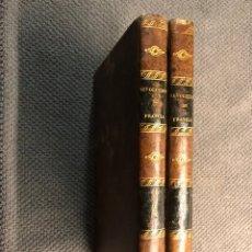 Libros antiguos: HISTORIA DE LA REVOLUCIÓN DE FRANCIA. (VOL. I Y II), POR M. MIGNET (A.1838). Lote 159988888