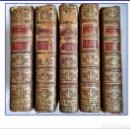 Libros antiguos: AÑO 1770-75: HISTORIA DE FRANCIA. 5 TOMOS DEL SIGLO XVIII.. Lote 160029694