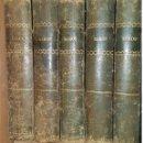 Libros antiguos: OBRA COMPLETA DE 5 TOMOS DE NERÓN. EDICIÓN DEL AÑO 1.875 CON LOMO DE PIEL EN COLOR VERDE. Lote 160527774