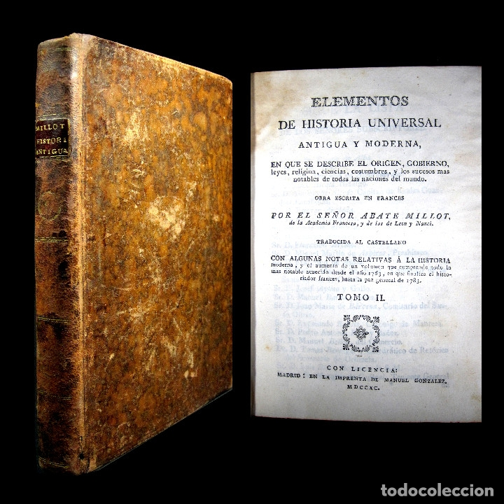 AÑO 1790 ANTIGUA GRECIA Y ROMA SÓCRATES ALEJANDRO MAGNO ASTRONOMÍA MEDICINA HISTORIA CASTELLANO (Libros antiguos (hasta 1936), raros y curiosos - Historia Antigua)