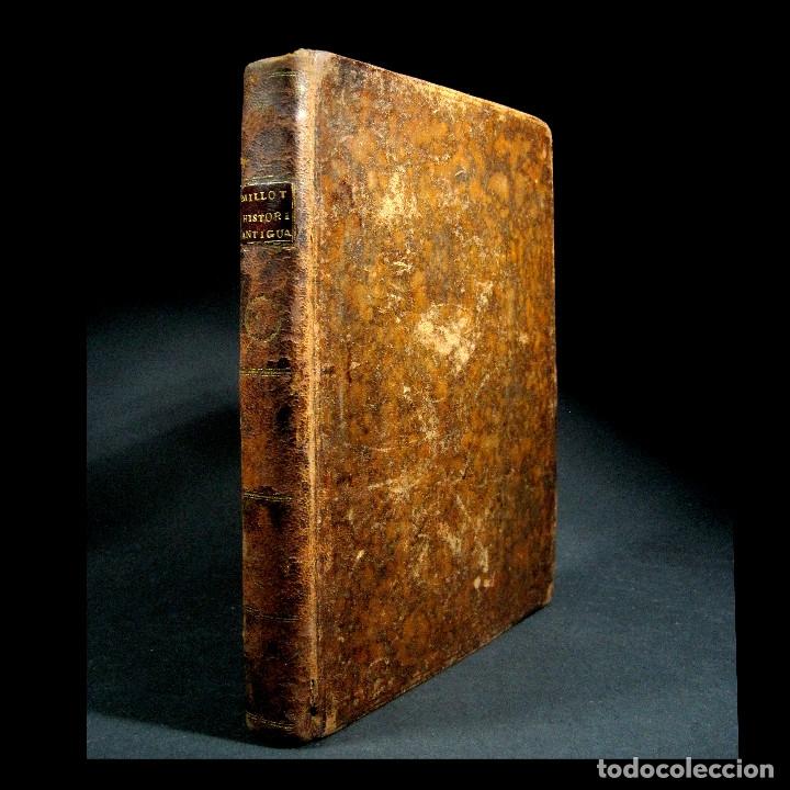 Libros antiguos: Año 1790 Antigua Grecia y Roma Sócrates Alejandro Magno astronomía medicina historia Castellano - Foto 2 - 108045355