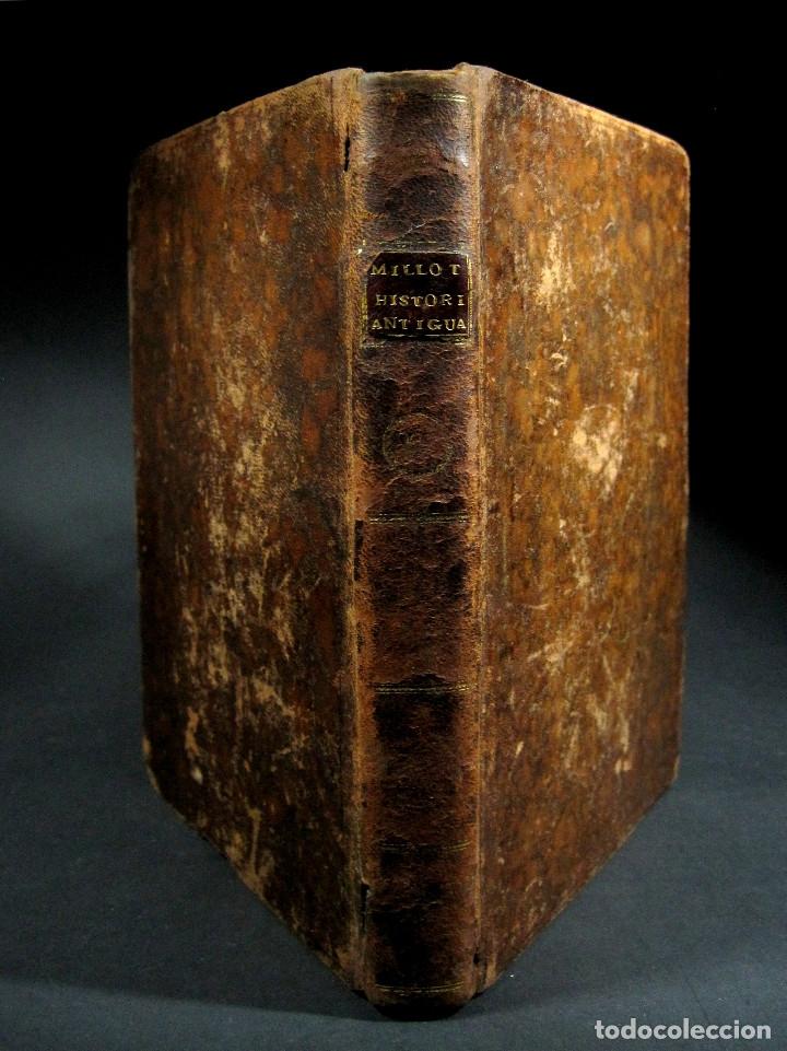 Libros antiguos: Año 1790 Antigua Grecia y Roma Sócrates Alejandro Magno astronomía medicina historia Castellano - Foto 17 - 108045355