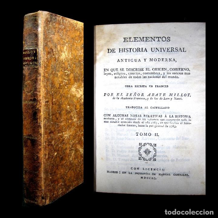 Libros antiguos: Año 1790 Antigua Grecia y Roma Sócrates Alejandro Magno astronomía medicina historia Castellano - Foto 18 - 108045355