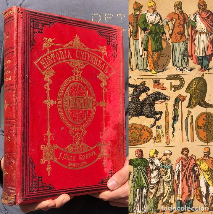 1886 ROMA - GRECIA - ARQUEOLOGIA - MUNDO ANTIGUO -HISTORIA UNIVERSAL - FOLIO - LAMINAS GRABADOS (Alte, seltene und kuriose Bücher (bis 1936) - Geschichte - Alte Geschichte)