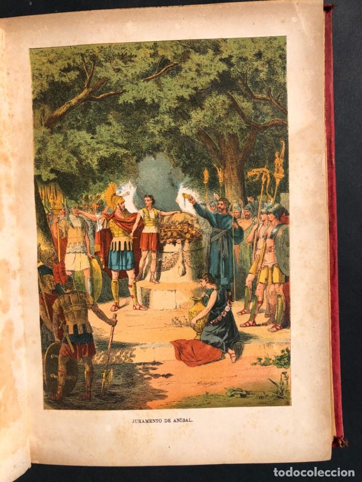 Alte Bücher: 1886 ROMA - GRECIA - ARQUEOLOGIA - MUNDO ANTIGUO -HISTORIA UNIVERSAL - folio - laminas grabados - Foto 15 - 161274274