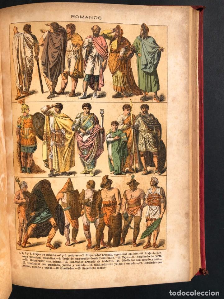 Alte Bücher: 1886 ROMA - GRECIA - ARQUEOLOGIA - MUNDO ANTIGUO -HISTORIA UNIVERSAL - folio - laminas grabados - Foto 19 - 161274274