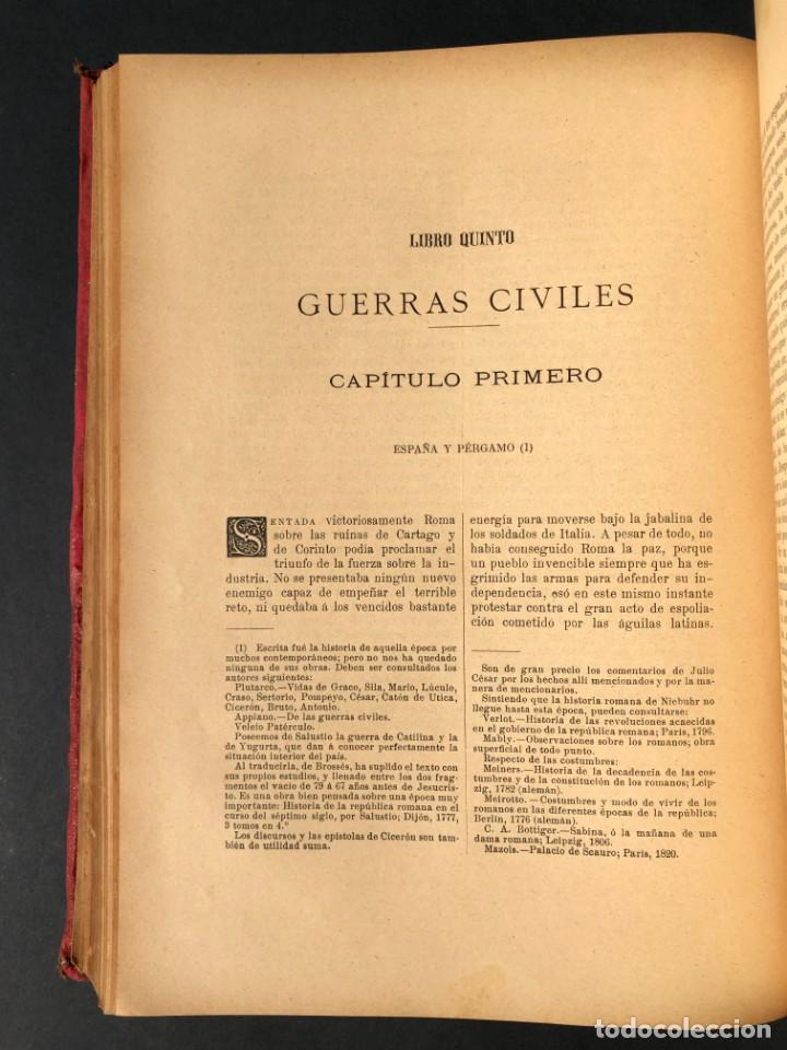 Alte Bücher: 1886 ROMA - GRECIA - ARQUEOLOGIA - MUNDO ANTIGUO -HISTORIA UNIVERSAL - folio - laminas grabados - Foto 21 - 161274274