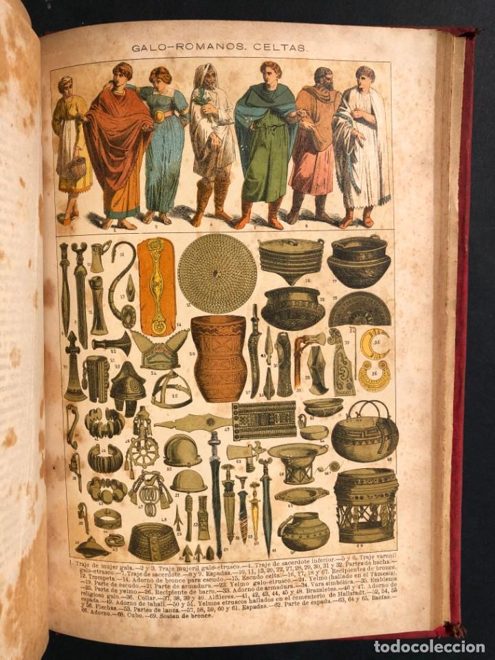 Alte Bücher: 1886 ROMA - GRECIA - ARQUEOLOGIA - MUNDO ANTIGUO -HISTORIA UNIVERSAL - folio - laminas grabados - Foto 24 - 161274274