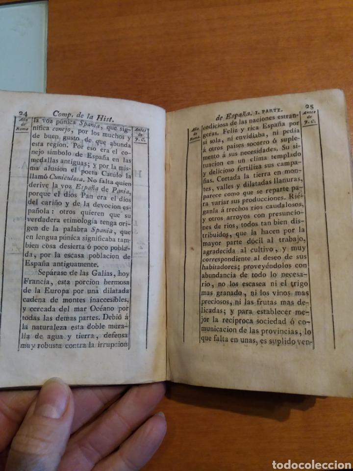 Libros antiguos: Historia de España. Tomo 1. Duchesne. 1827. - Foto 5 - 161275460
