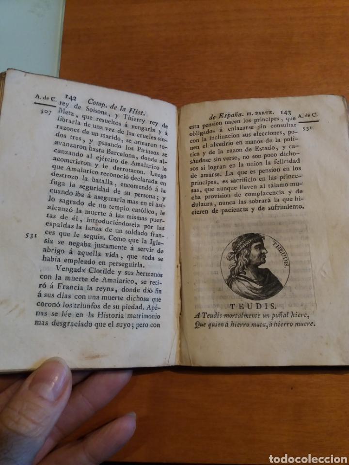 Libros antiguos: Historia de España. Tomo 1. Duchesne. 1827. - Foto 6 - 161275460