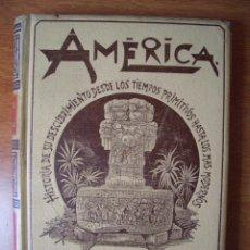 Alte Bücher - AMÉRICA HISTORIA DE SU DESCUBRIMIENTO Rodolfo Cronau Tomo I Montaner y SImón Editores 1892 - 161479714