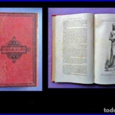 Libros antiguos: AÑO 1891: MUJERES ILUSTRES DE FRANCIA. FUERTE VOLUMEN ILUSTRADO DEL SIGLO XIX. 30 CM.. Lote 162580098