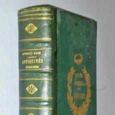 Libros antiguos: DICTIONNAIRE DES ANTIQUITÉS ROMAINES ET GRECQUES. Lote 162802938