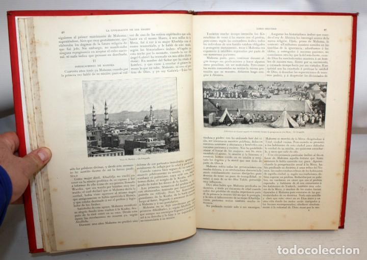 Libros antiguos: LA CIVILIZACION DE LOS ÁRABES-DR GUSTAVO LEBON-1886 - Foto 8 - 162809710