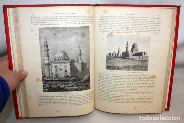 Libros antiguos: LA CIVILIZACION DE LOS ÁRABES-DR GUSTAVO LEBON-1886 - Foto 11 - 162809710