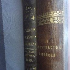 Libros antiguos: LA ILUSTRACIÓN ESPAÑOLA 1883/LA ILUSTRACIÓN AMERICANA ESPAÑOLA SEGUNDO TRIMESTRE 1879. Lote 163426572