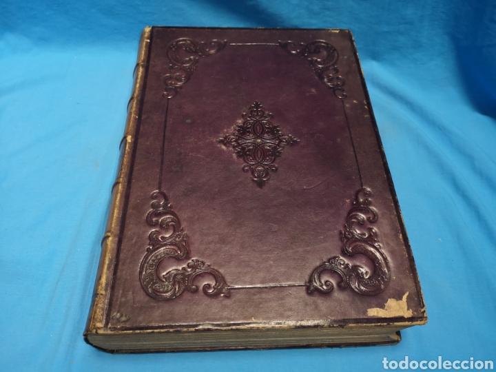ANTIGUO LIBRO DE 1870, CRÓNICA GENERAL DE ESPAÑA, ÁVILA, LOGROÑO, SANTANDER, SORIA, SEGOVIA-BURGOS. (Libros antiguos (hasta 1936), raros y curiosos - Historia Antigua)