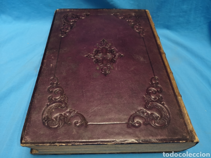 Libros antiguos: Antiguo libro de 1870, crónica general de España, Ávila, Logroño, Santander, Soria, Segovia-Burgos. - Foto 3 - 163827258