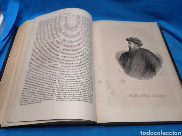 Libros antiguos: Antiguo libro de 1870, crónica general de España, Ávila, Logroño, Santander, Soria, Segovia-Burgos. - Foto 10 - 163827258