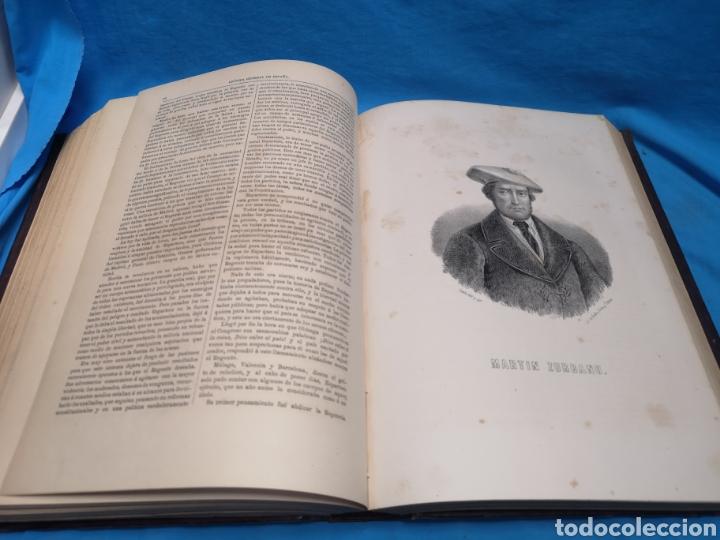 Libros antiguos: Antiguo libro de 1870, crónica general de España, Ávila, Logroño, Santander, Soria, Segovia-Burgos. - Foto 11 - 163827258