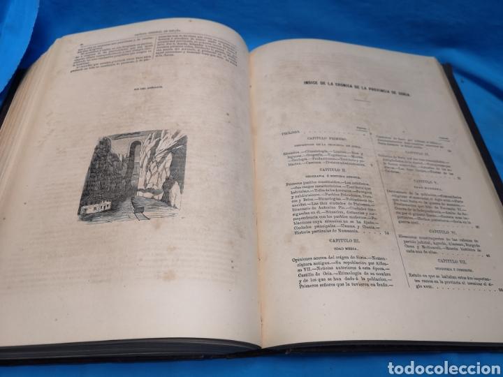 Libros antiguos: Antiguo libro de 1870, crónica general de España, Ávila, Logroño, Santander, Soria, Segovia-Burgos. - Foto 12 - 163827258