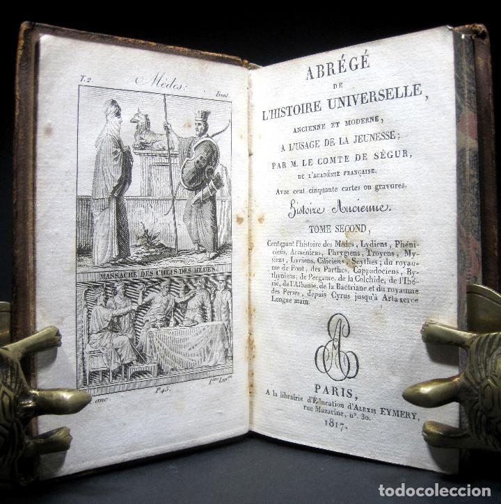 Libros antiguos: Año 1817 Historia de la antigua Troya Persia Iberia Fenicia Pérgamo Ciro Artajerjes 3 Grabados - Foto 3 - 163867914