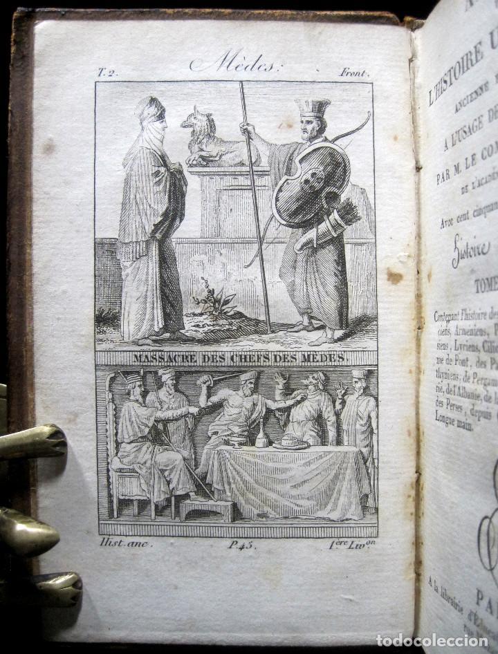 Libros antiguos: Año 1817 Historia de la antigua Troya Persia Iberia Fenicia Pérgamo Ciro Artajerjes 3 Grabados - Foto 4 - 163867914