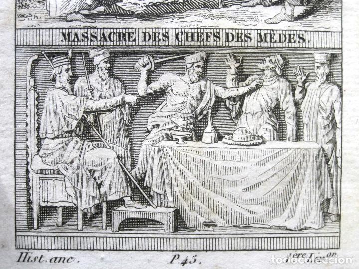 Libros antiguos: Año 1817 Historia de la antigua Troya Persia Iberia Fenicia Pérgamo Ciro Artajerjes 3 Grabados - Foto 5 - 163867914