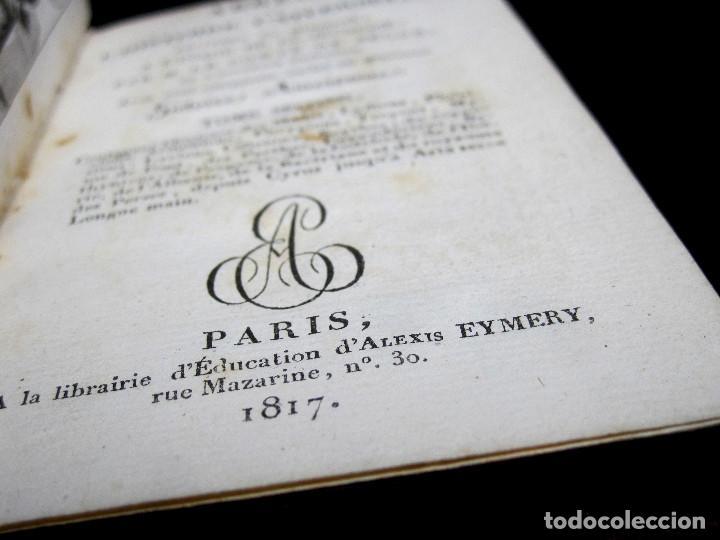 Libros antiguos: Año 1817 Historia de la antigua Troya Persia Iberia Fenicia Pérgamo Ciro Artajerjes 3 Grabados - Foto 7 - 163867914