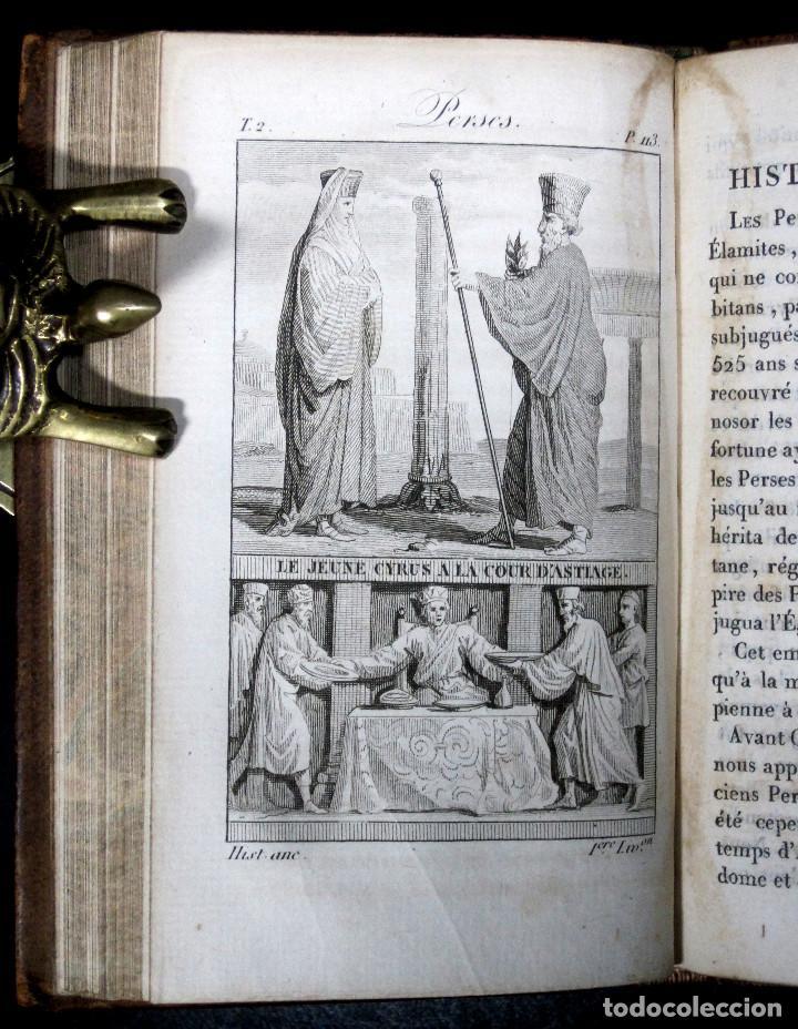 Libros antiguos: Año 1817 Historia de la antigua Troya Persia Iberia Fenicia Pérgamo Ciro Artajerjes 3 Grabados - Foto 8 - 163867914