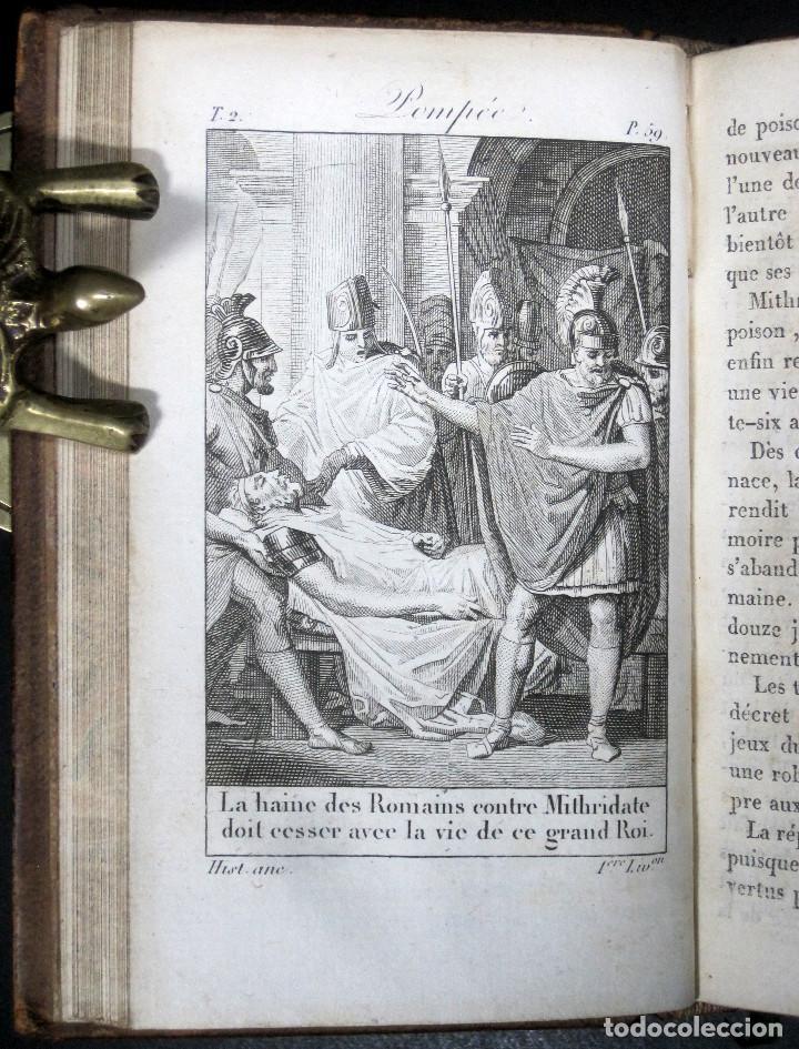Libros antiguos: Año 1817 Historia de la antigua Troya Persia Iberia Fenicia Pérgamo Ciro Artajerjes 3 Grabados - Foto 10 - 163867914