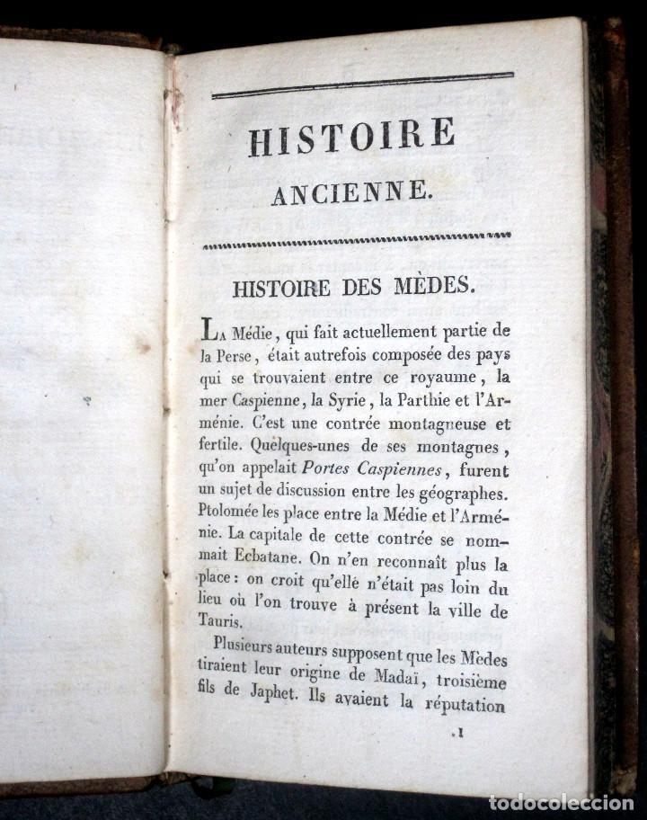 Libros antiguos: Año 1817 Historia de la antigua Troya Persia Iberia Fenicia Pérgamo Ciro Artajerjes 3 Grabados - Foto 12 - 163867914