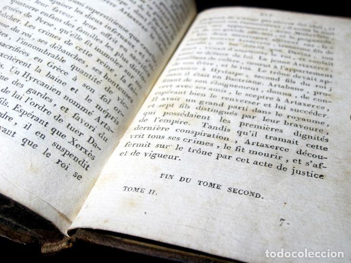 Libros antiguos: Año 1817 Historia de la antigua Troya Persia Iberia Fenicia Pérgamo Ciro Artajerjes 3 Grabados - Foto 15 - 163867914