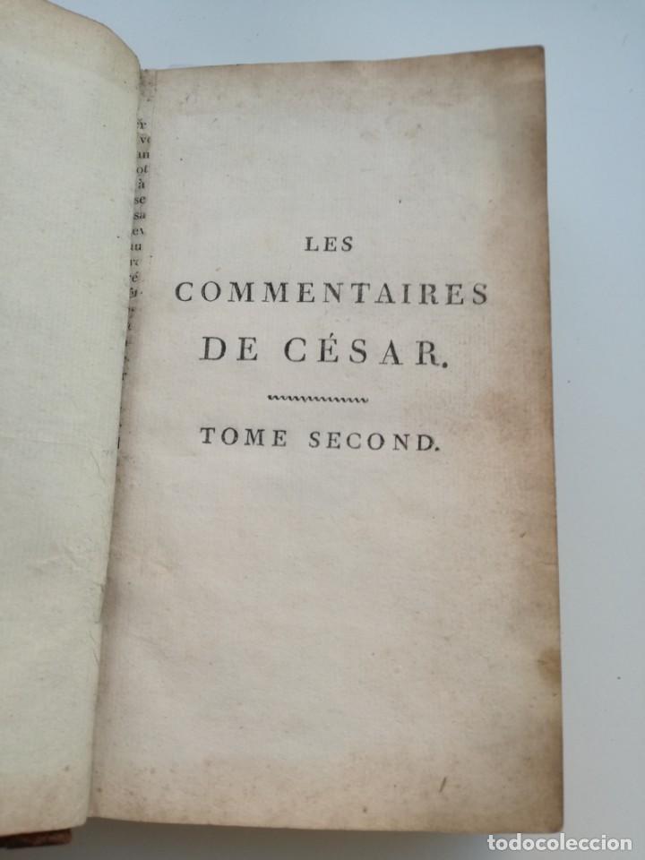 Libros antiguos: OBRAS DE CÉSAR (AÑO 1812): LA GUERRA CIVIL (COMPLETA), LA GUERRA DE ESPAÑA, LA GUERRA DE ÁFRICA... - Foto 4 - 163949770