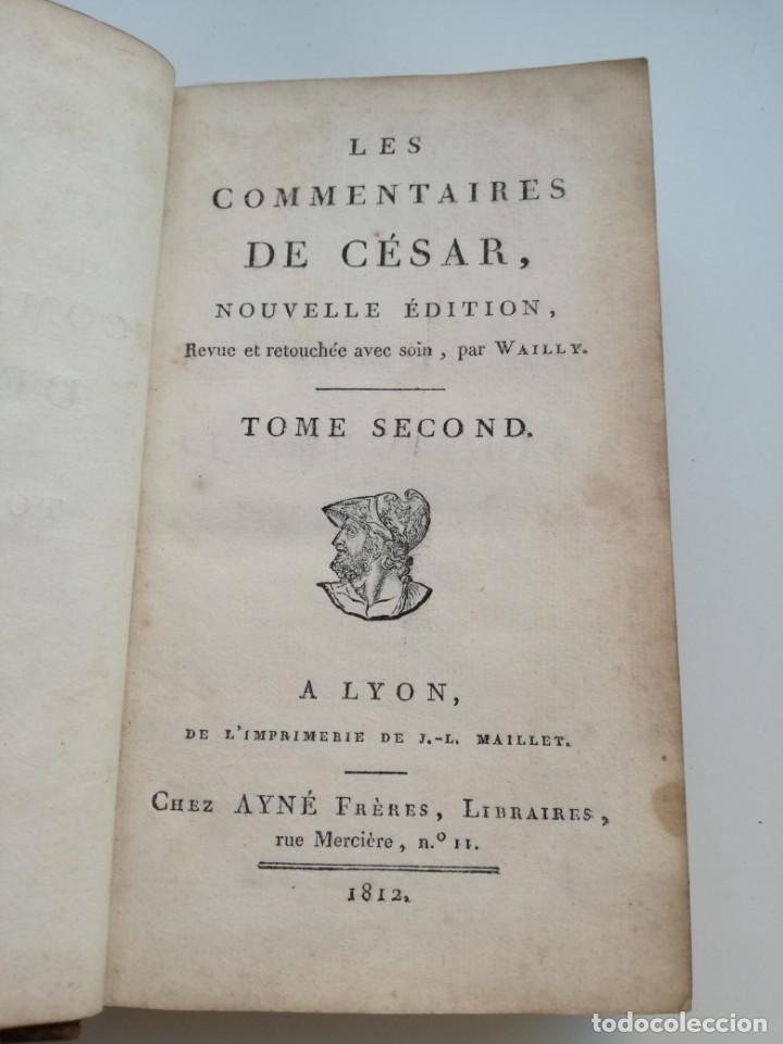 Libros antiguos: OBRAS DE CÉSAR (AÑO 1812): LA GUERRA CIVIL (COMPLETA), LA GUERRA DE ESPAÑA, LA GUERRA DE ÁFRICA... - Foto 5 - 163949770