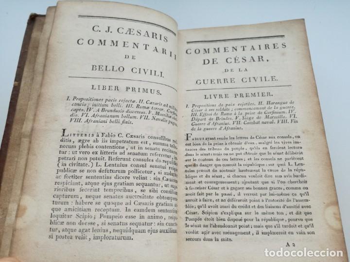 Libros antiguos: OBRAS DE CÉSAR (AÑO 1812): LA GUERRA CIVIL (COMPLETA), LA GUERRA DE ESPAÑA, LA GUERRA DE ÁFRICA... - Foto 6 - 163949770