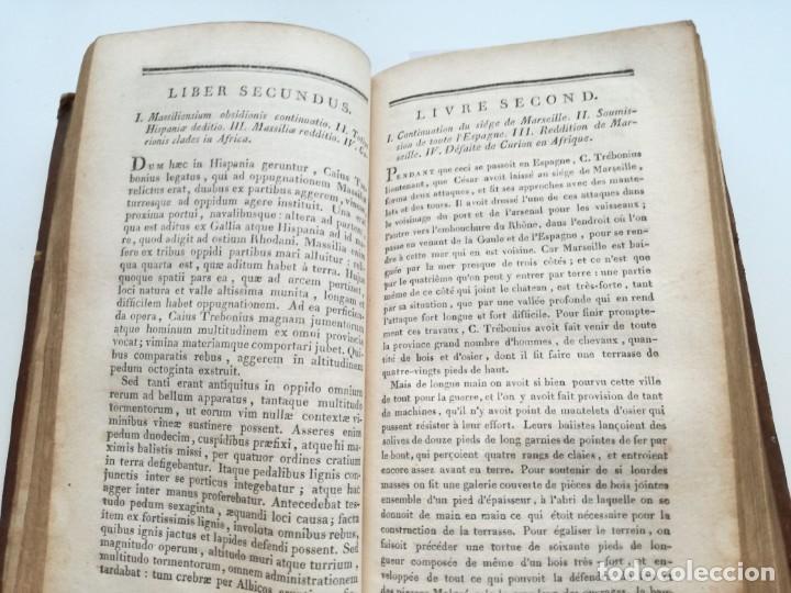 Libros antiguos: OBRAS DE CÉSAR (AÑO 1812): LA GUERRA CIVIL (COMPLETA), LA GUERRA DE ESPAÑA, LA GUERRA DE ÁFRICA... - Foto 7 - 163949770