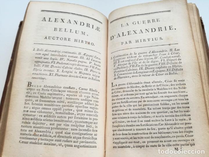 Libros antiguos: OBRAS DE CÉSAR (AÑO 1812): LA GUERRA CIVIL (COMPLETA), LA GUERRA DE ESPAÑA, LA GUERRA DE ÁFRICA... - Foto 9 - 163949770