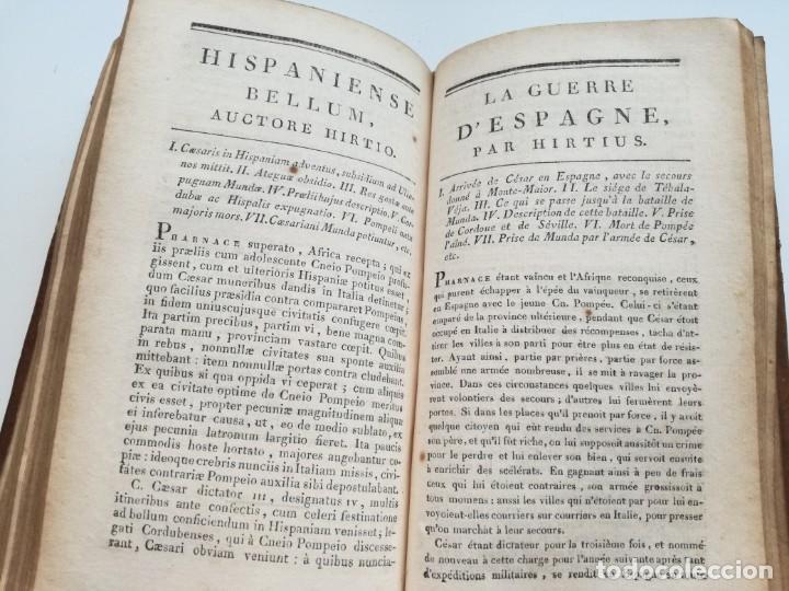 Libros antiguos: OBRAS DE CÉSAR (AÑO 1812): LA GUERRA CIVIL (COMPLETA), LA GUERRA DE ESPAÑA, LA GUERRA DE ÁFRICA... - Foto 11 - 163949770