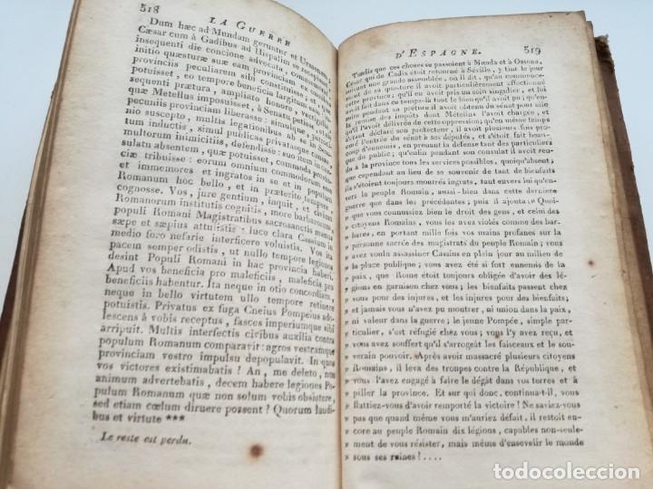 Libros antiguos: OBRAS DE CÉSAR (AÑO 1812): LA GUERRA CIVIL (COMPLETA), LA GUERRA DE ESPAÑA, LA GUERRA DE ÁFRICA... - Foto 12 - 163949770